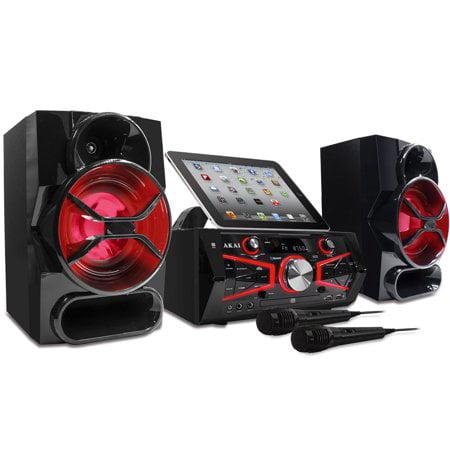 Akai Ram Upgrade - Akai Karaoke Mini System 150 Watts CD&G with Lightning Effect