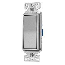 Eaton 7501-9B Single Pole Decorator Switch, 15 Amp, 120/277V AG BR 15 Amp Single Pole
