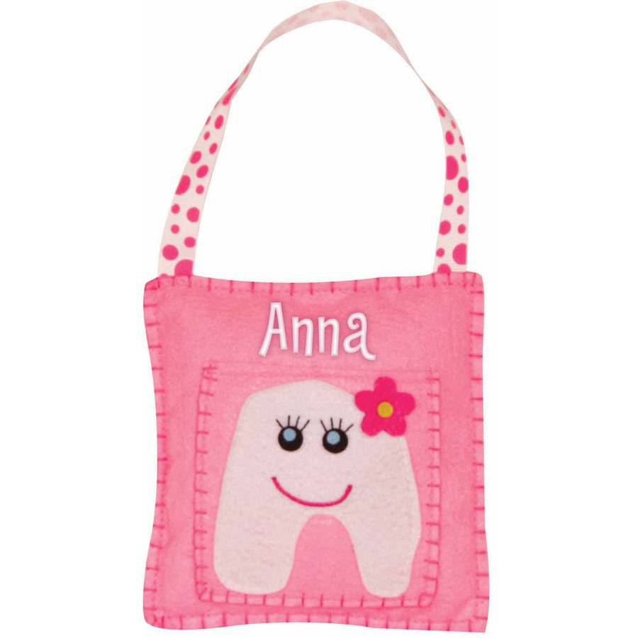 Personalized Hanging Tooth Fairy Pillow, Girl