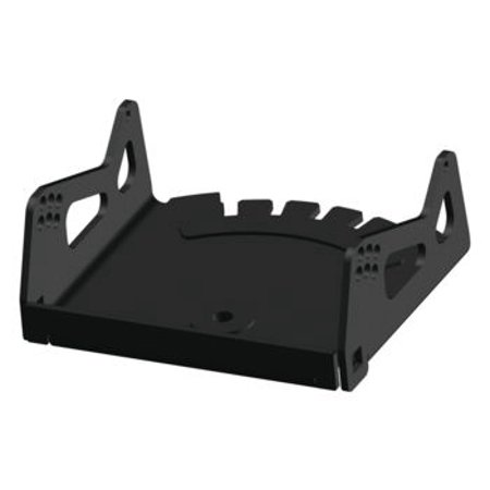 KFI Products Black Conversion Cradle for Cycle Country Standard Mid-Mount ATV Push Tube and All KFI Plow Blades 105820 ()