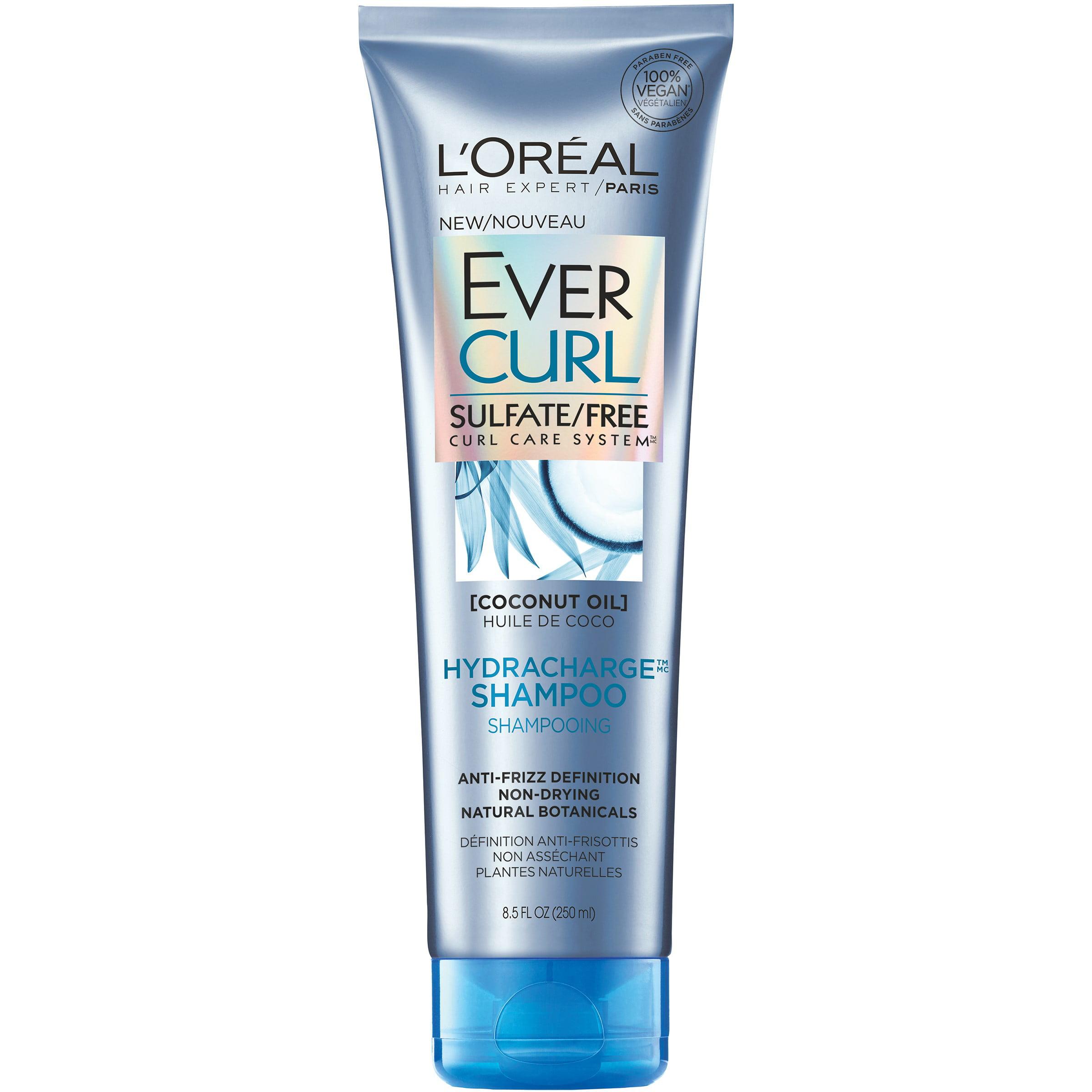 L'Oreal Paris EverCurl HydraCharge Shampoo, 8.5 Fl Oz