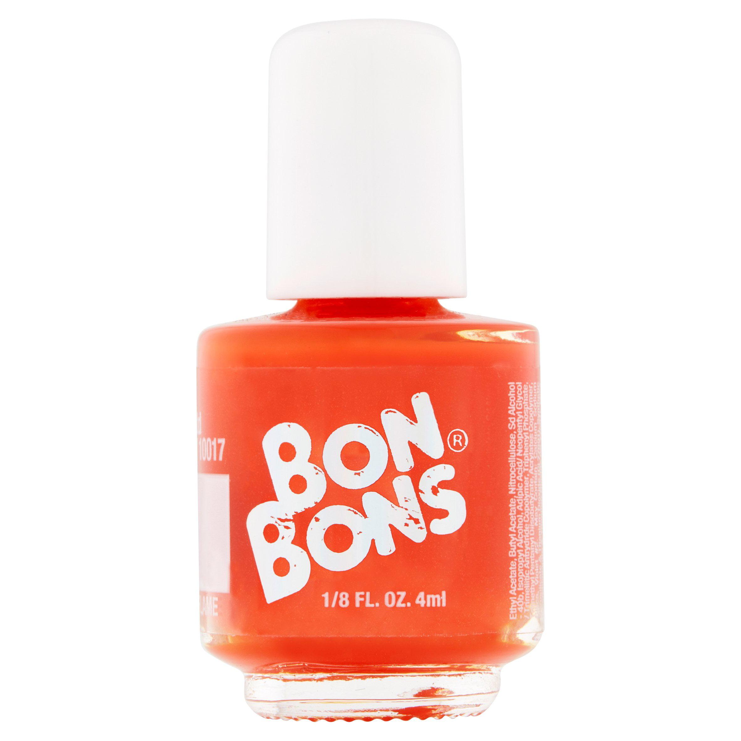 Bon Bons Bright Orange Cream Nail Polish, 1/8 fl oz - Walmart.com