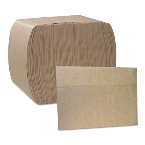 Cascades North River ServRite 1-Ply Dispenser Napkins, Natural, 375 count, (Pack of 16)