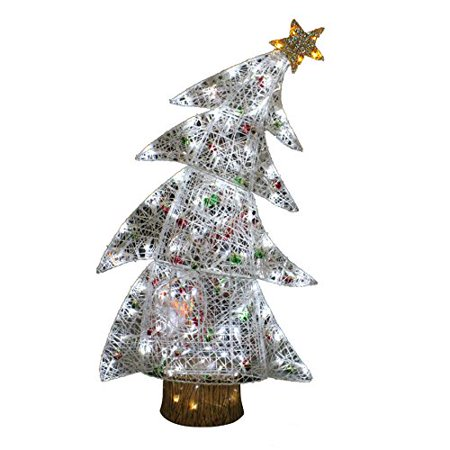 Holiday Living 4 Ft Bent Tree Outdoor Christmas Decoration