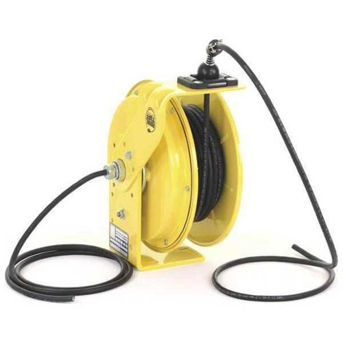 KH INDUSTRIES RTBA3L-WW-B16K Cord Reel, 50 ft, 16/3, SO, Yellow