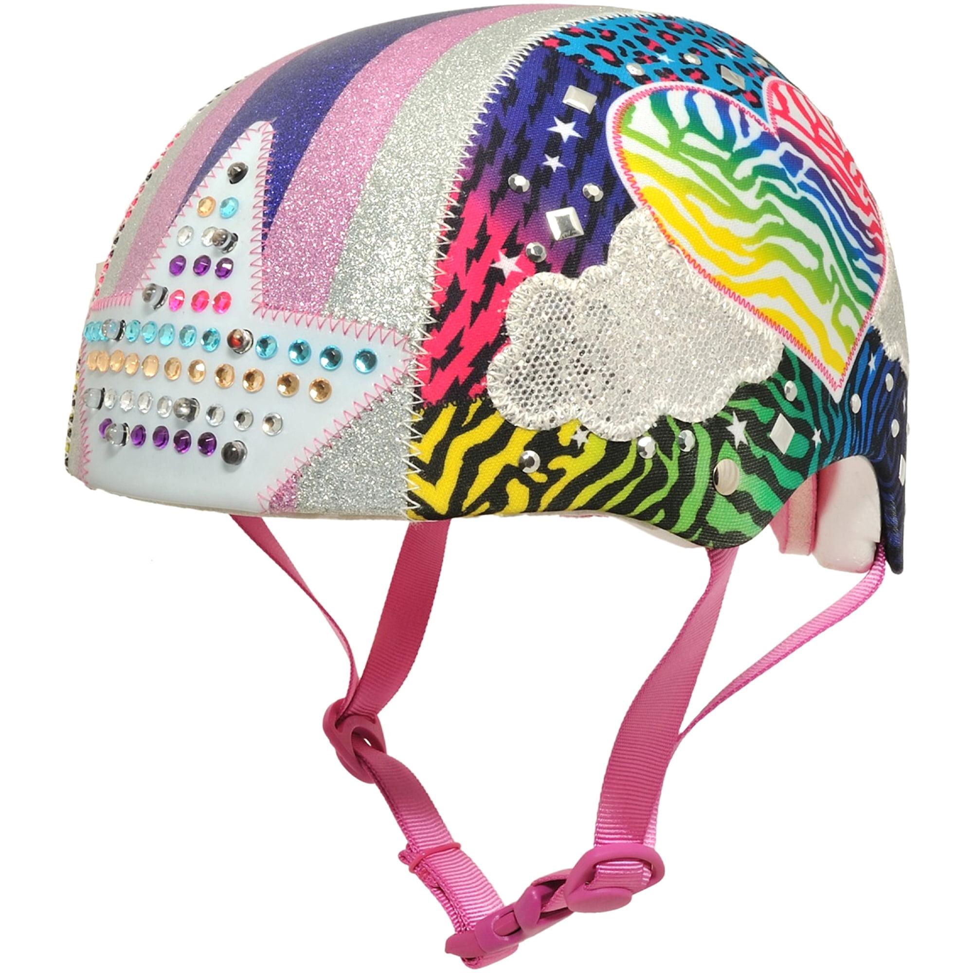 Raskullz Sparklez Jungle Love with LED Lights Child Bike Skate Helmet by Cpreme