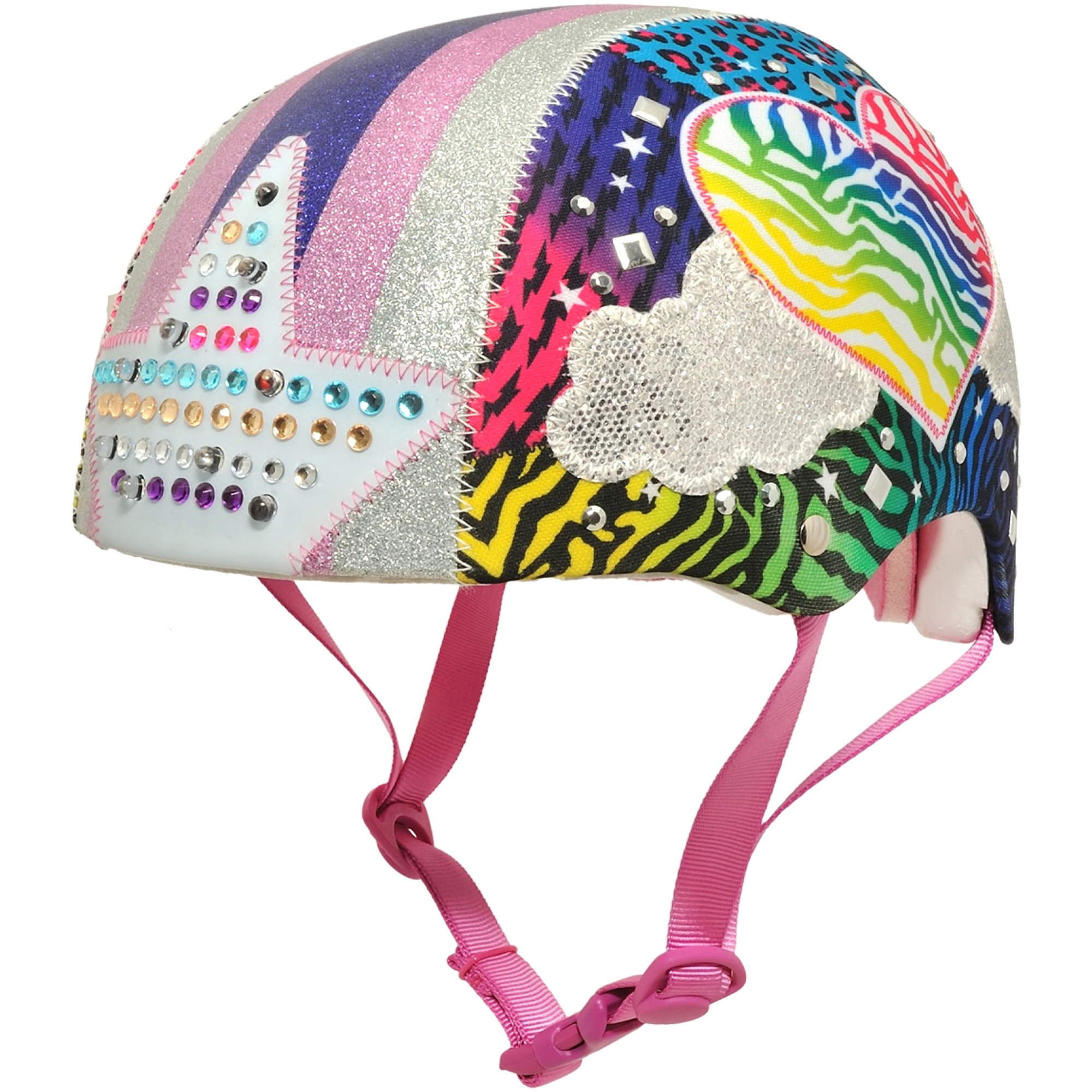 Raskullz Jungle Love Helmet with LED Lights, Child 5+ (50-54cm)