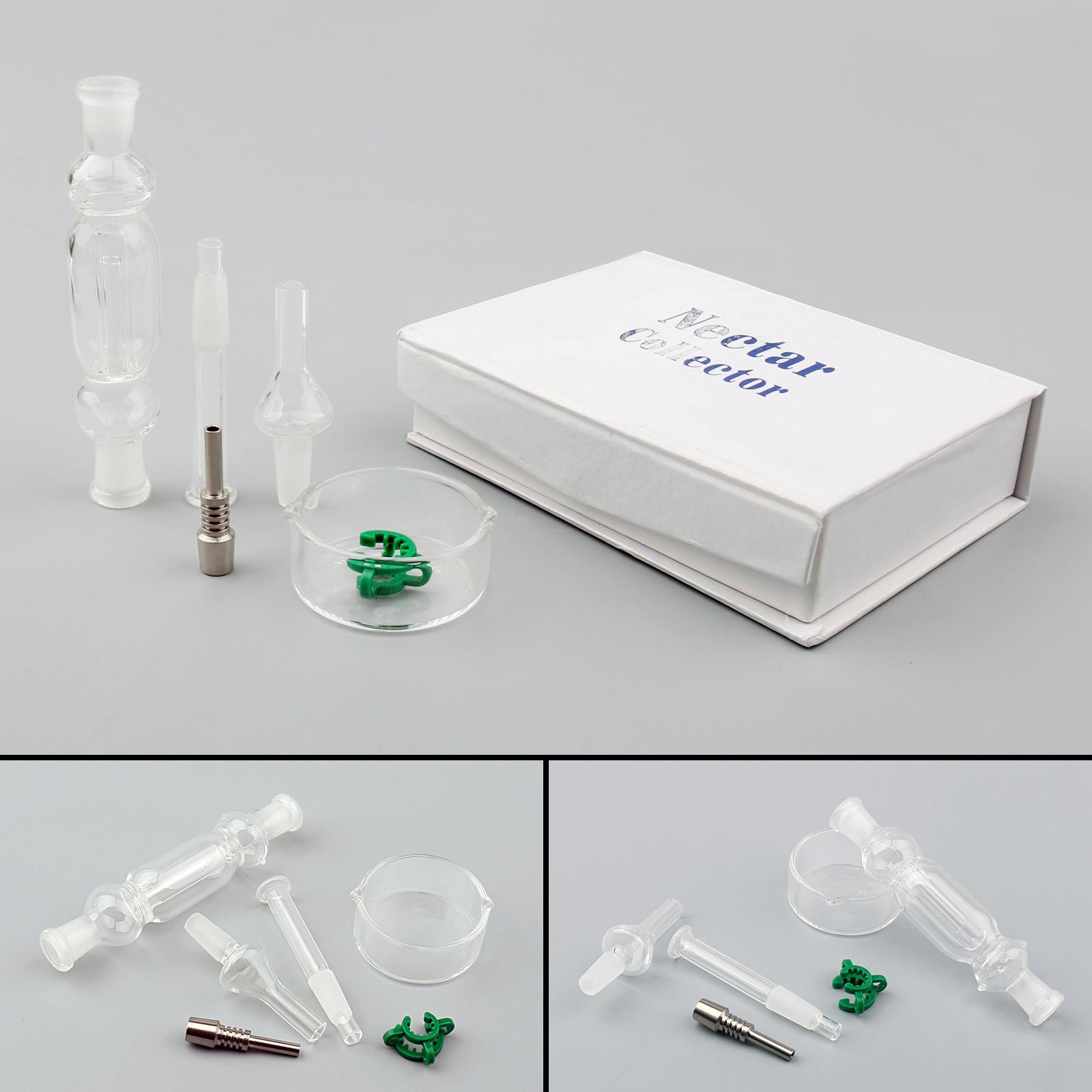 Areyourshop 10mm Mini For NC Quartz Tip Titanium Tip Glass Body
