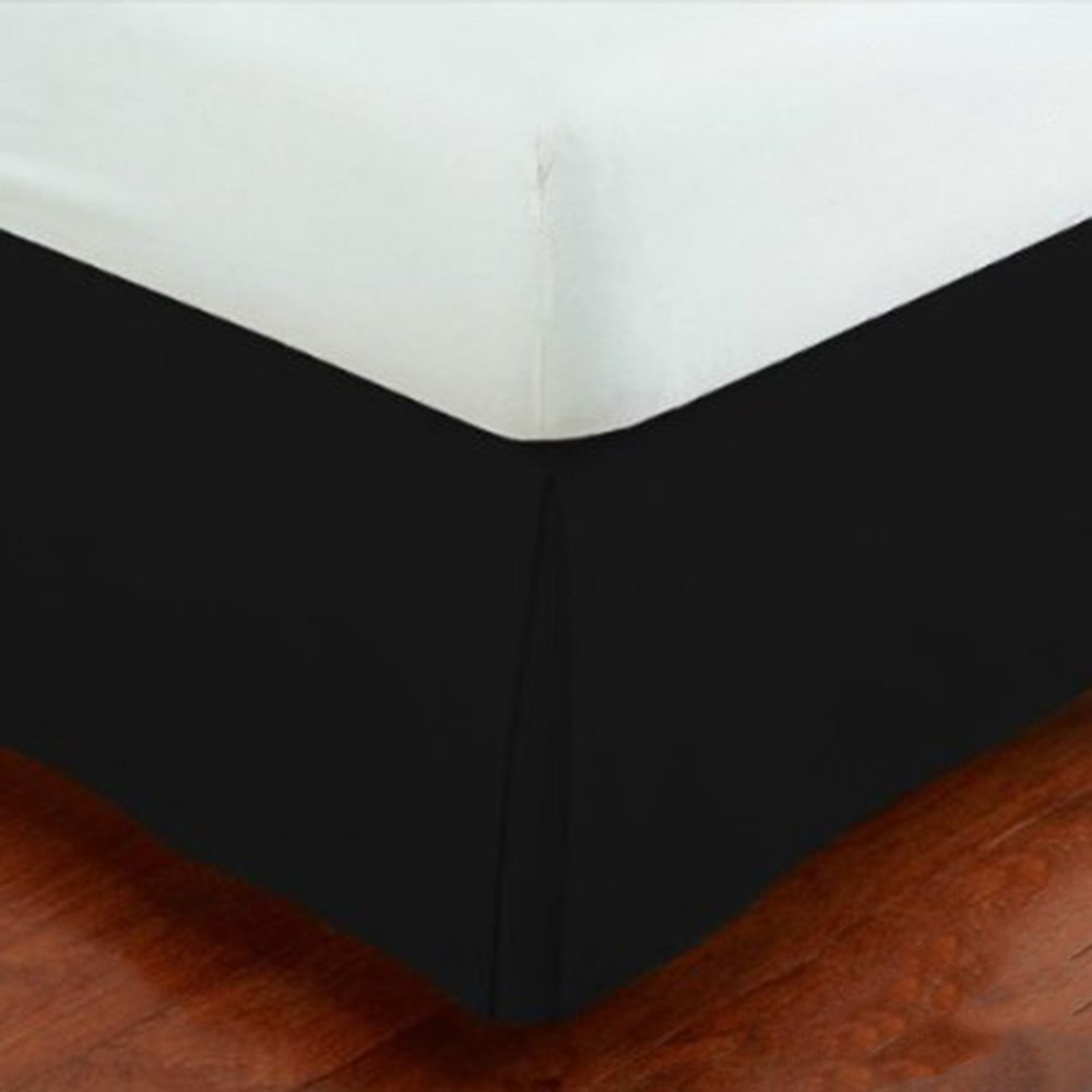 Fancy Collection 14 Inch Drop Tailored Pleated Bed Skirt Twin Size