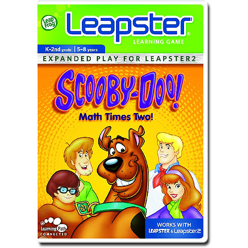 LeapFrog Leapster Learning Game: Scooby-Doo, Math Times Two