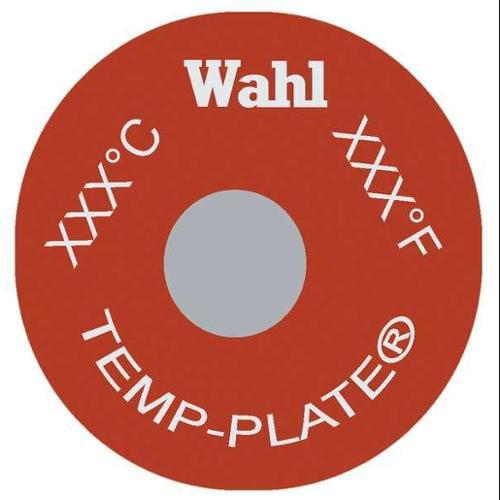 WAHL 414-170F-077C Non-Rev Temp Indicator, Mylar, PK20