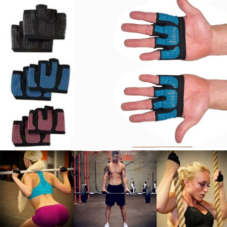 Weight lifting Gloves - Gym Workout Gloves for Cross Training, Weightlifting & Yoga - Enhanced Silicone Grip - Hiker Cross Trainer