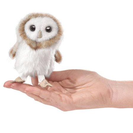 Mini Barn Owl Finger Puppet (Other) (Owl Babies Puppets)