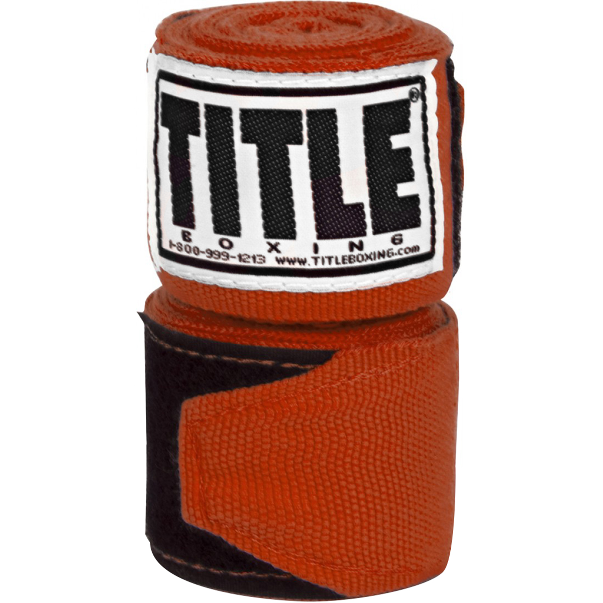 "Title Boxing 180"" Semi Elastic Mexican Handwraps - Burnt Orange"
