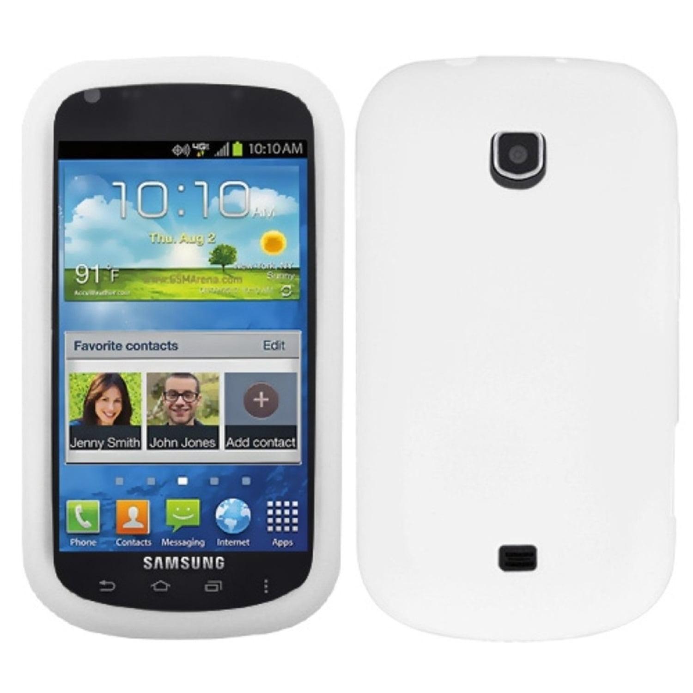 Insten Solid Skin Case (White) for SAMSUNG: I200 (Stellar)