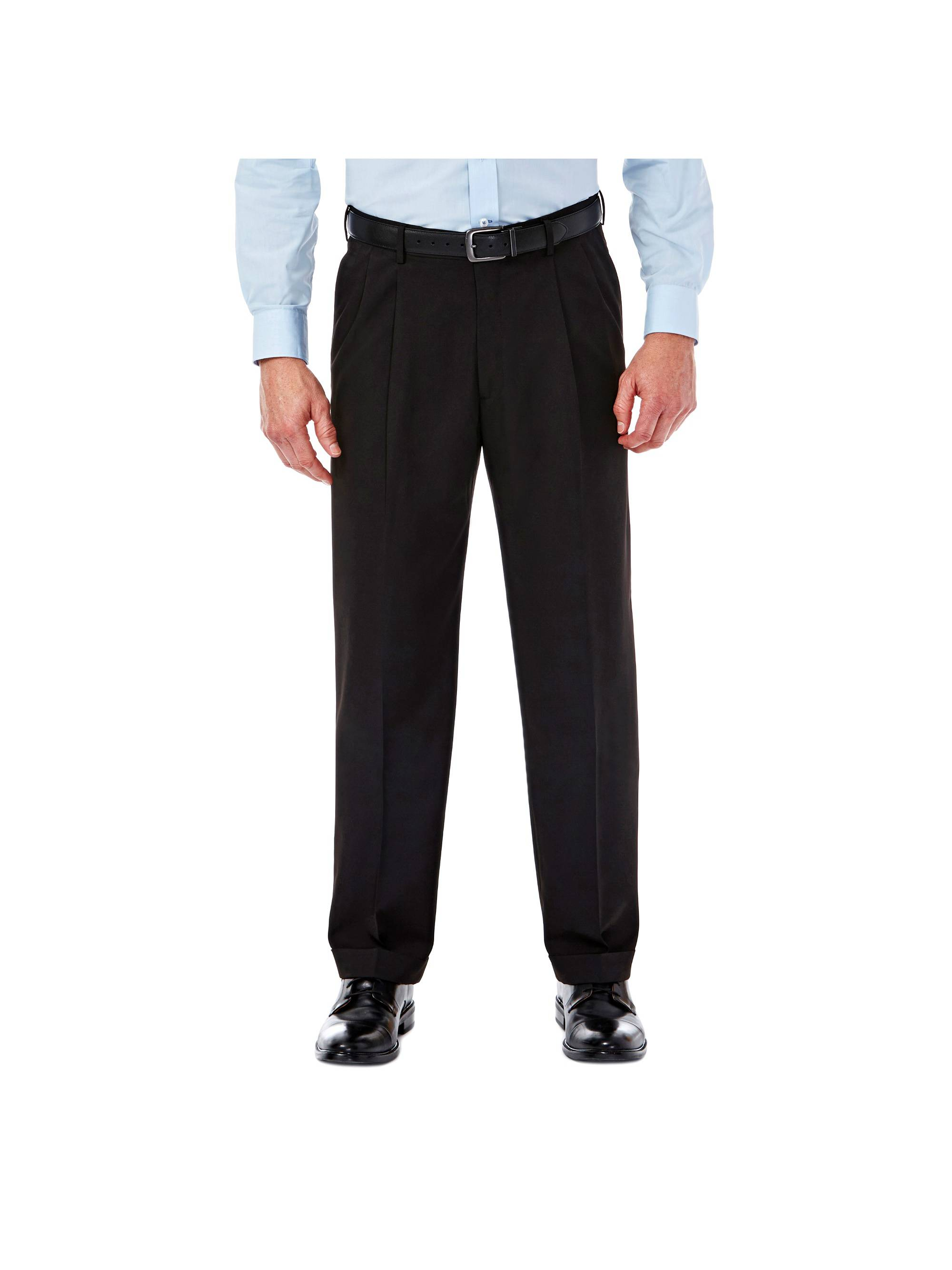 Men's Mynx Gabardine Pleat Front Dress Pant Classic Fit 11111836245