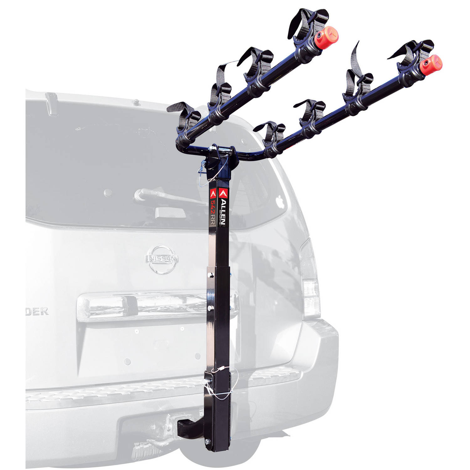 Allen Sports 542RR Deluxe 4-Bike Hitch Mounted Bike Rack by THE R A ALLEN COMPANY INC