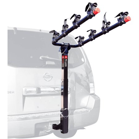 - Allen Sports Deluxe 4-Bicycle Hitch Mounted Bike Rack Carrier, 542RR