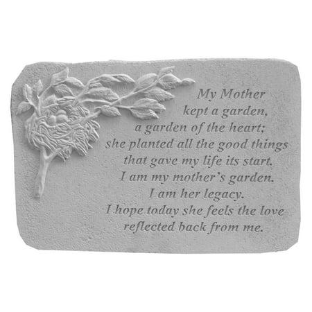 Kay Berry My Mother Kept Memorial Garden Stone