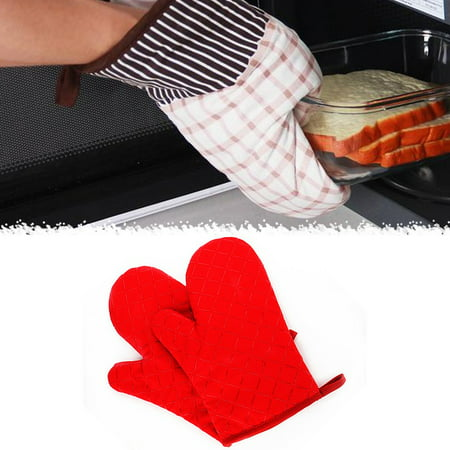 Baking High Temperature Resistant Oven Microwave Oven Non-Slip Gloves 1 Pair - image 2 of 4
