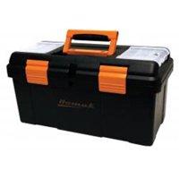 "Brand New Homak Mfg Hmbk00119005 20"" Plas Tool Bx W/Tray & Dividers"