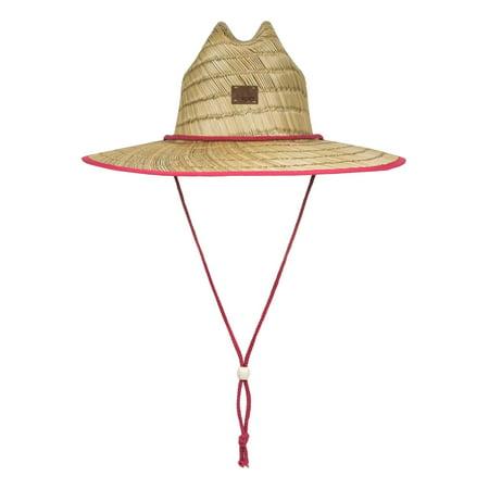 Roxy Women's Tomboy Straw Hat S/M Holly Berry (Roxy Hats For Women)