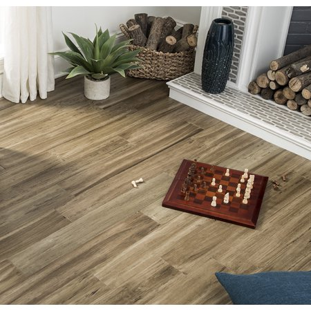 Mojave Dusk 8.5 mm Thickness x 5.12 in. Width x 36.22 in. Length Water Resistant Engineered Bamboo Flooring (10.30 sq. ft. /