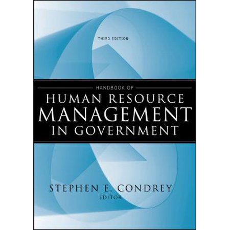 Handbook of Human Resource Management in