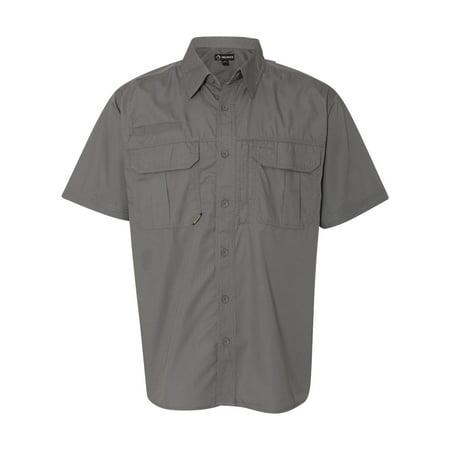 Nyco Ripstop Shirt - Men's Short Sleeve Utility Ripstop Shirt, Style 4463
