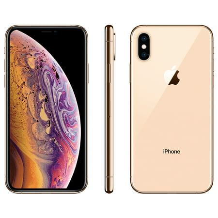 Straight Talk Apple iPhone XS w/64GB, Gold