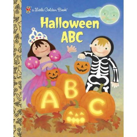 Halloween ABC (Little Golden Books)