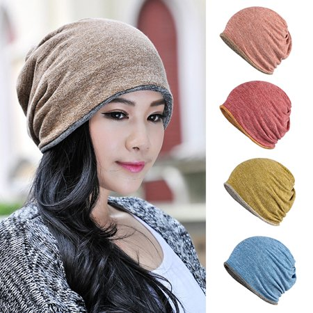 Girl12Queen - Moderna Winter Hat Warm Keeper Outdoor Dual-use Men Women Skull  Cap Beanie O Ring Scarf - Walmart.com 5d12cda041f