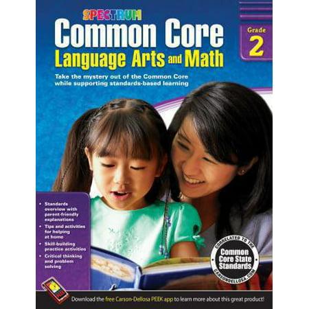 Common Core Math And Language Arts  Grade 2