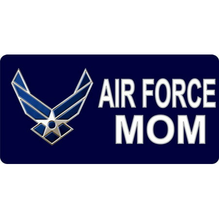 Air force mom photo license plate for Air force decoration writing