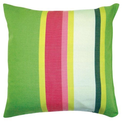 Fresh Lime Stripe Pillow