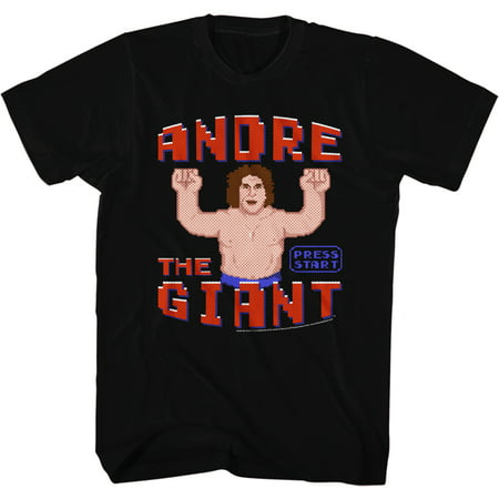 Andre The Giant Eighth Wonder Of The World Adult T-Shirt Tee WWE 80s Wreck