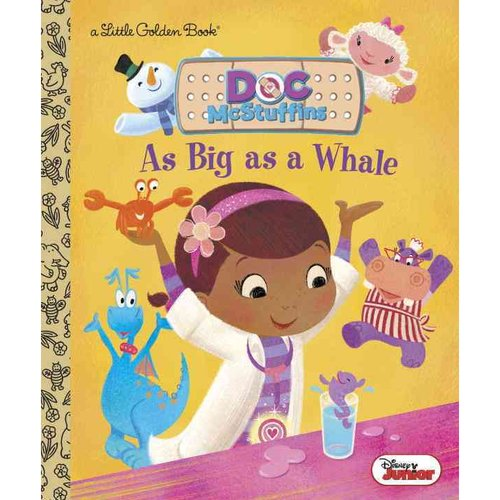 As Big As a Whale Little Golden Book