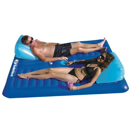 Swimline 16141sf Swimming Pool Inflatable Durable Floating 2 Person Air Mattress Walmart Canada