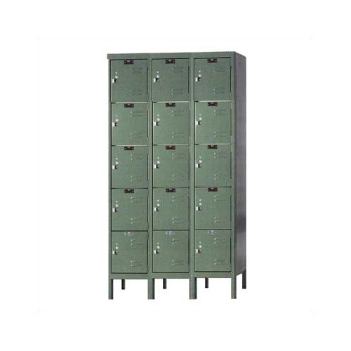 Hallowell Premium 5 Tier 3 Wide Traditional Locker