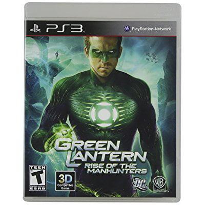 Green Lantern: Rise of Manhunters (PS3) (Green Lantern Video Game Xbox)