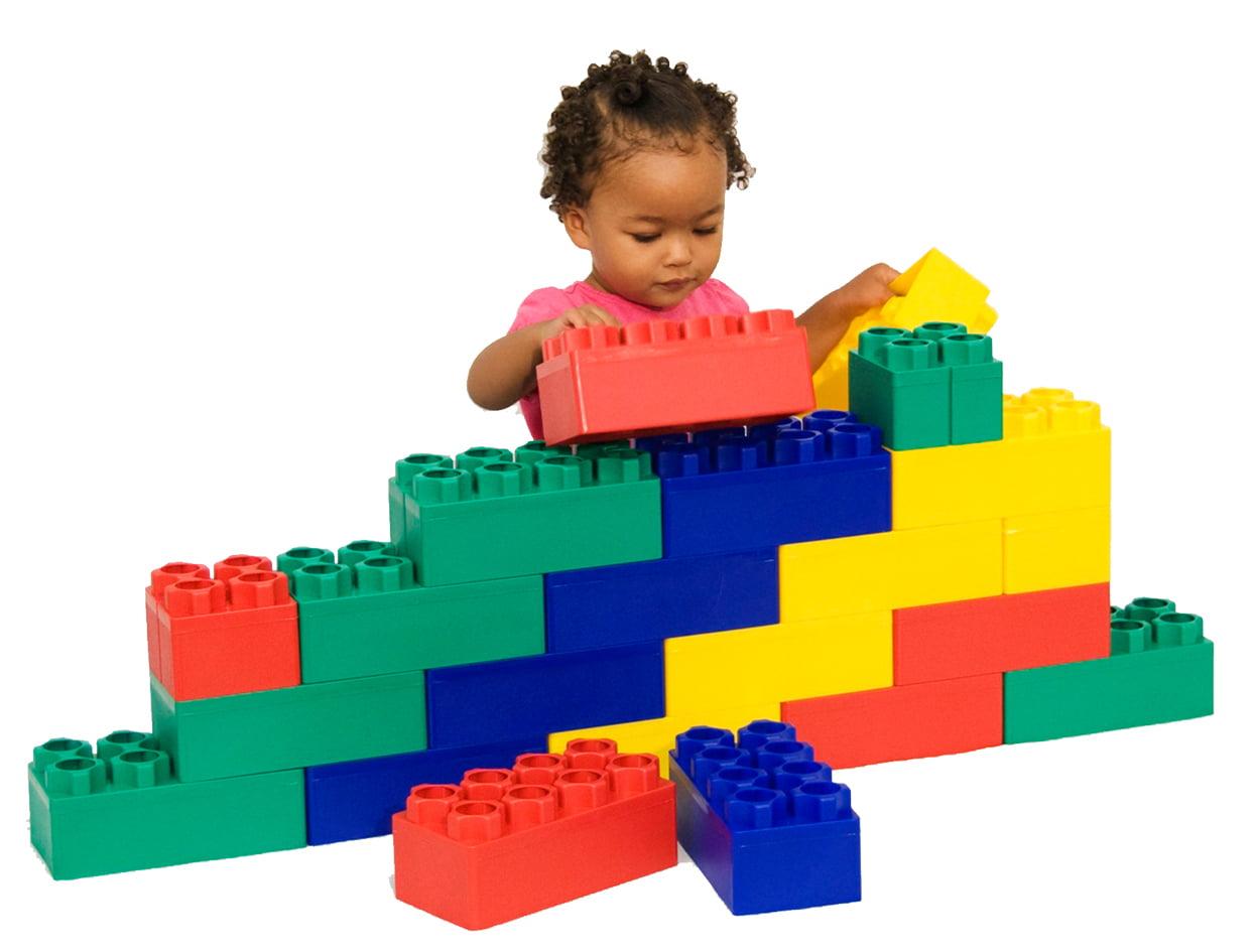 Jumbo Blocks Beginner Set 24 pc Box by Serec Entertainment LLC
