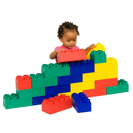 Jumbo Blocks Beginner Set 24 pc Box - Maple Blocks Set