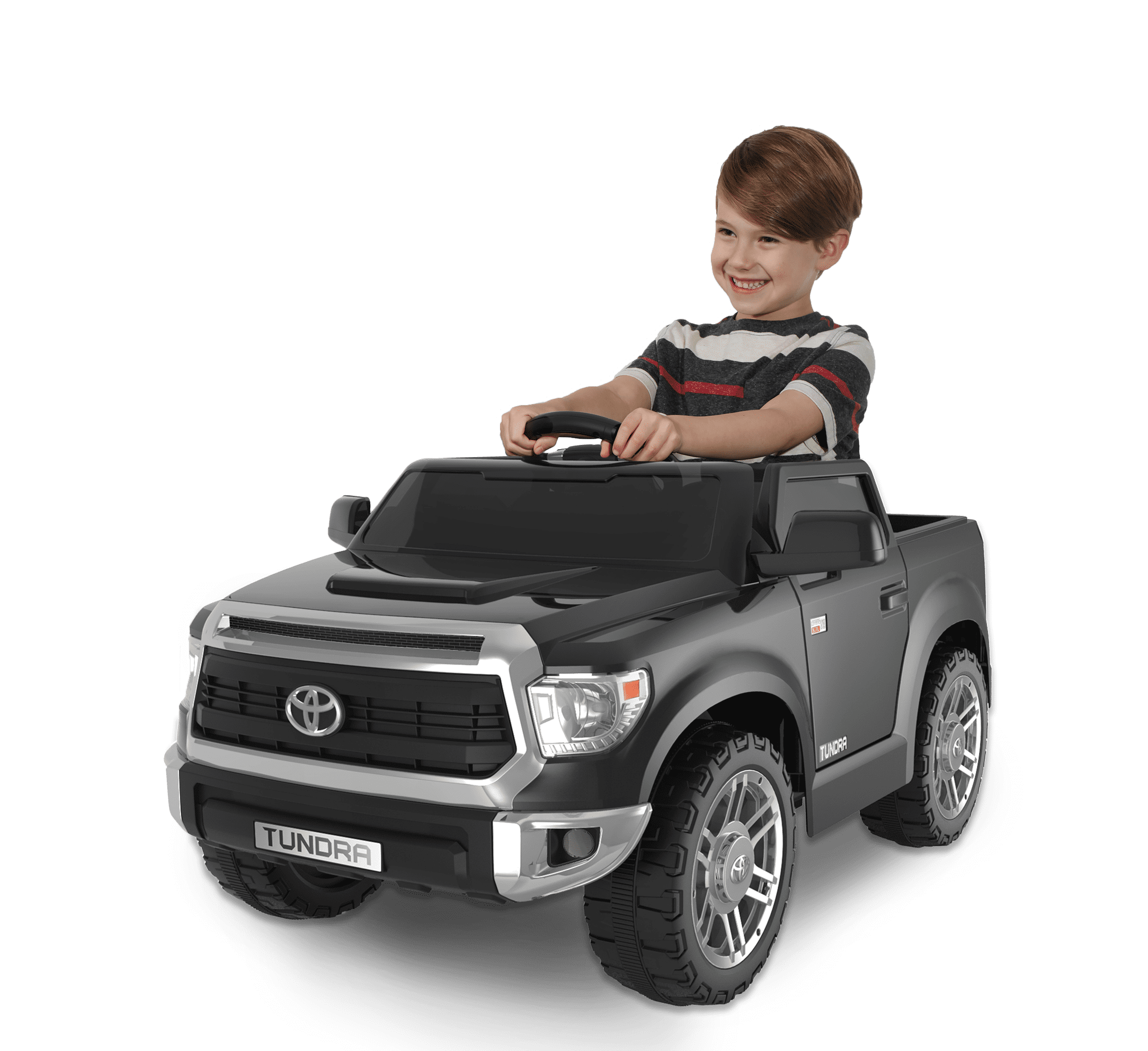 6 Volt Toyota Tundra Electric Ride On By Dynacraft With Working Truck Bed And Mp3 Player Walmart Com Walmart Com