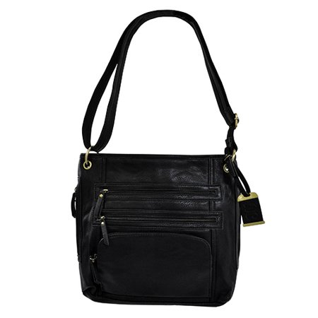 10e600719e Bulldog Cases Cross Body Style Concealed Carry Purse w  Holster- Black (  14
