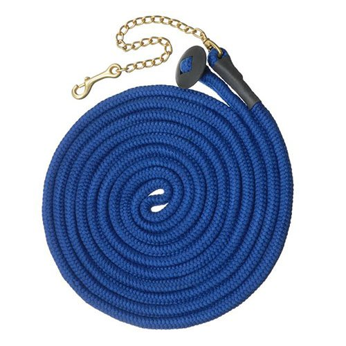 Tough-1 Rolled Cotton Lunge Line with Chain Bright Colors - 6 Pack Assorted