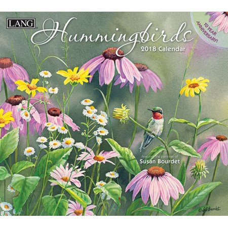 Hummingbirds 2018 Calendar  Free Bonus Download 12 Images Desktop Wallpaper