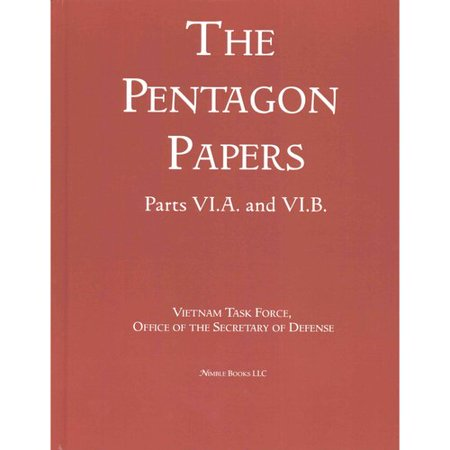 The pentagon papers - Essay Example