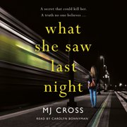 What She Saw Last Night - Audiobook
