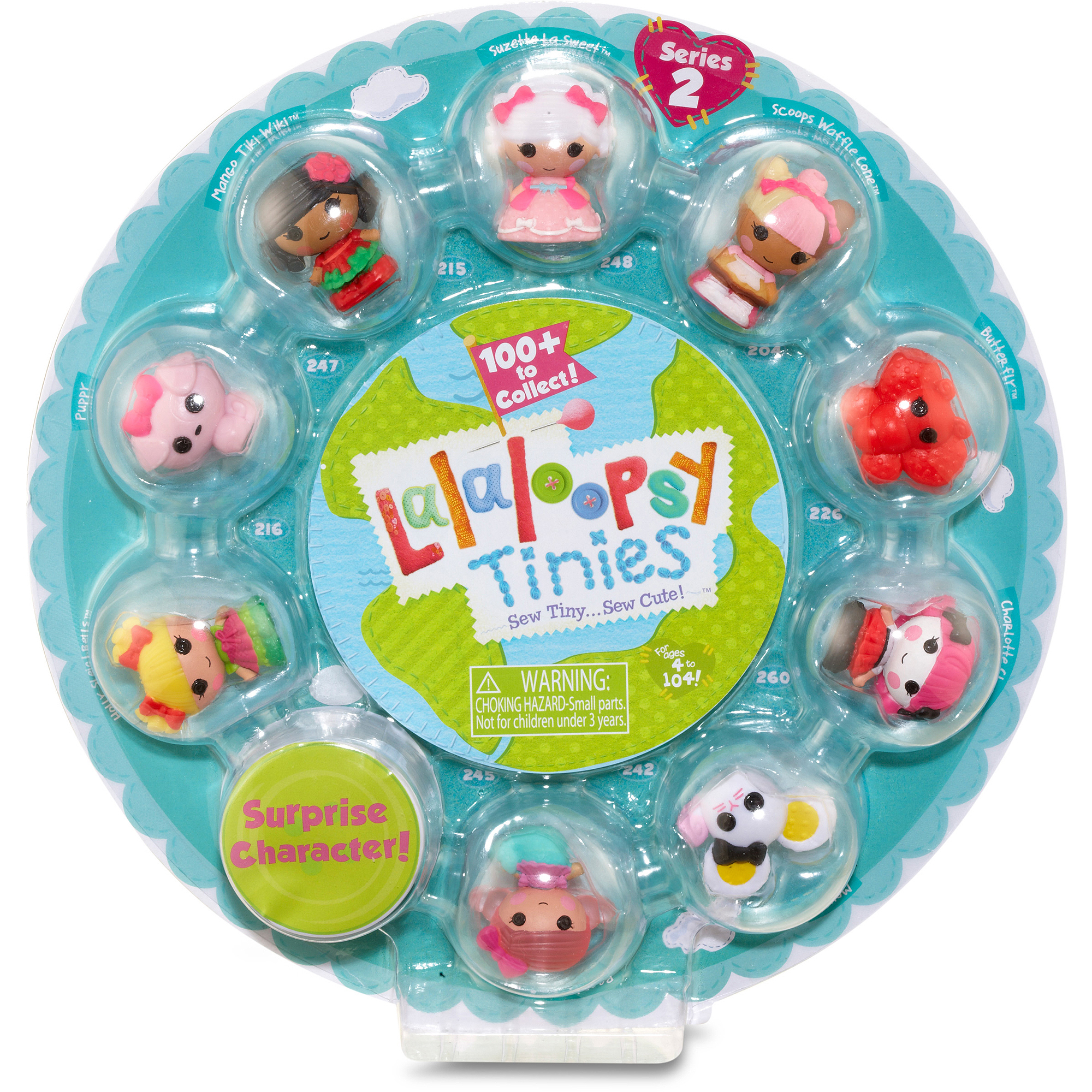 Lalaloopsy Tinies 10-Pack, Style 4