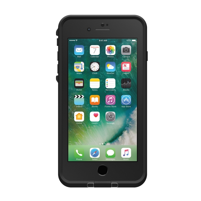 Lifeproof Fre Waterproof case for iPhone 7 Plus, Asphalt Black